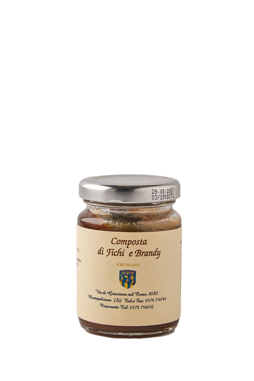 Marmelade für Pecorino mit Feigen und Brandy